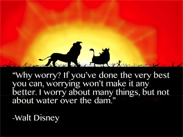 Disney words of wisdom